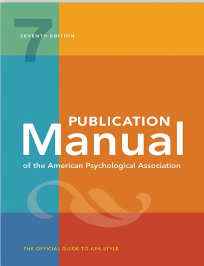 APA Manual 7th Edition Ebook PDF Download Link